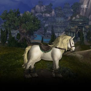 Level 40 riding WoW classic
